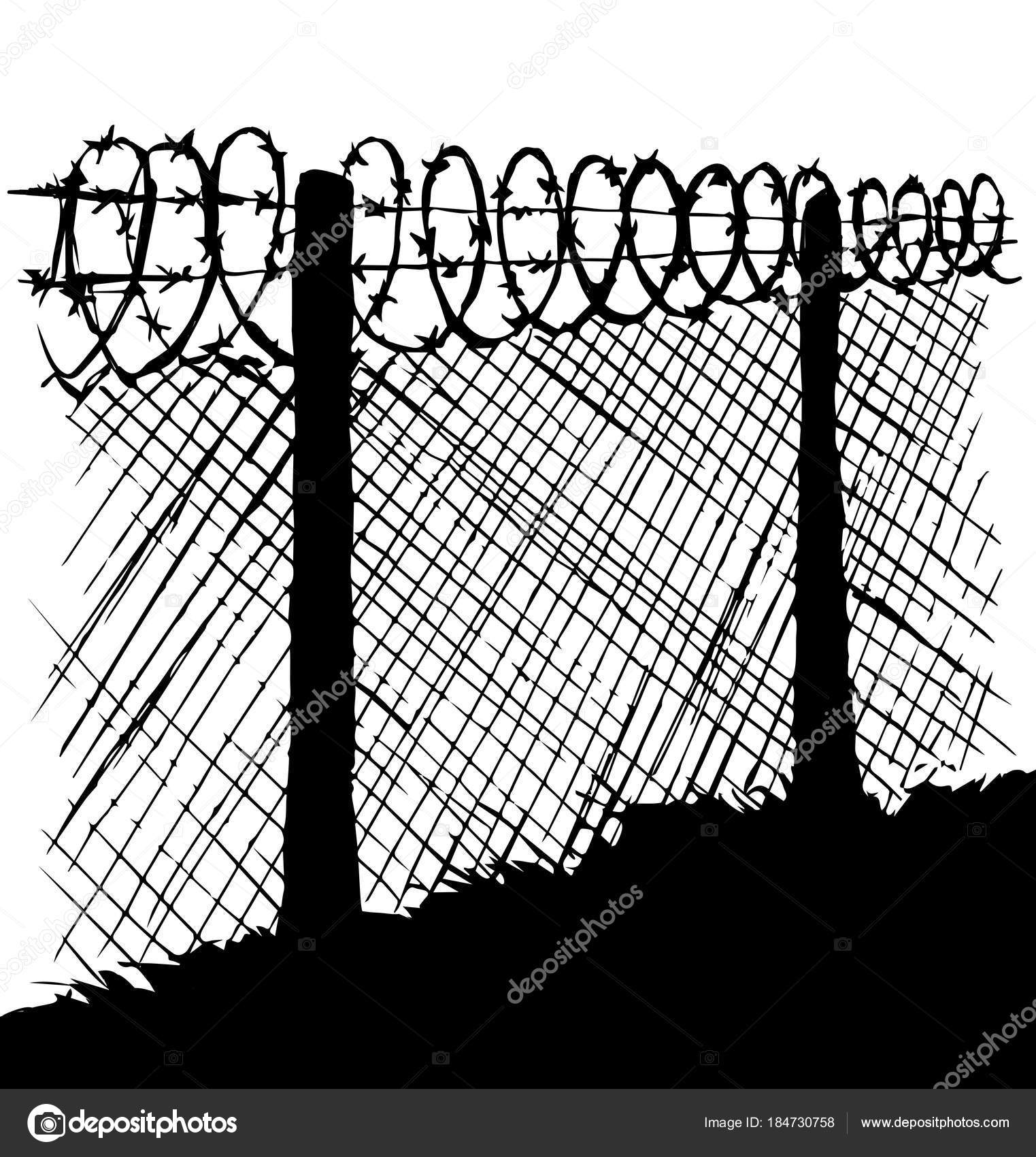 Attractive Razor Wire Drawing Composition - Electrical Diagram Ideas ...