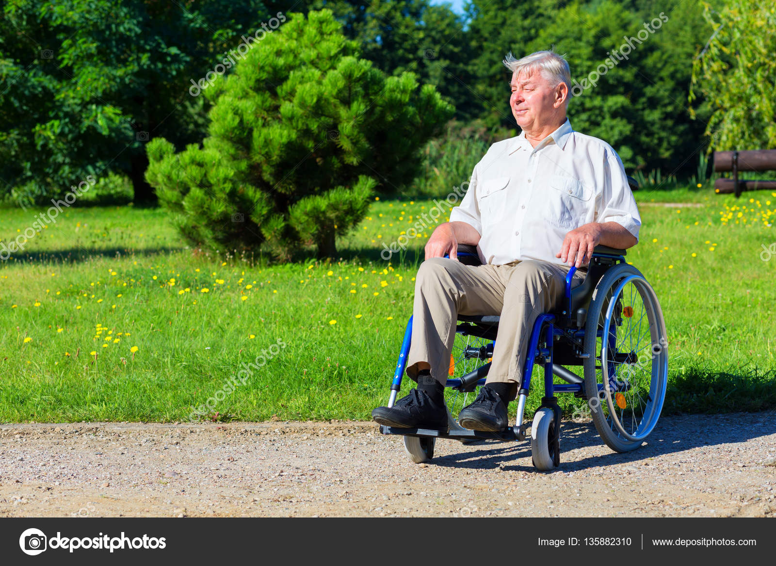 Image of: Png Happy Old Man On Wheelchair In The Park Stock Photo Adult Social Care Happy Old Man On Wheelchair In The Park Stock Photo Apeyron