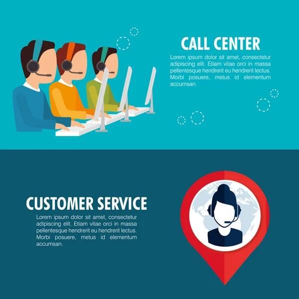 Call center Stock Vectors Royalty Free Call center Illustrations  Depositphotos
