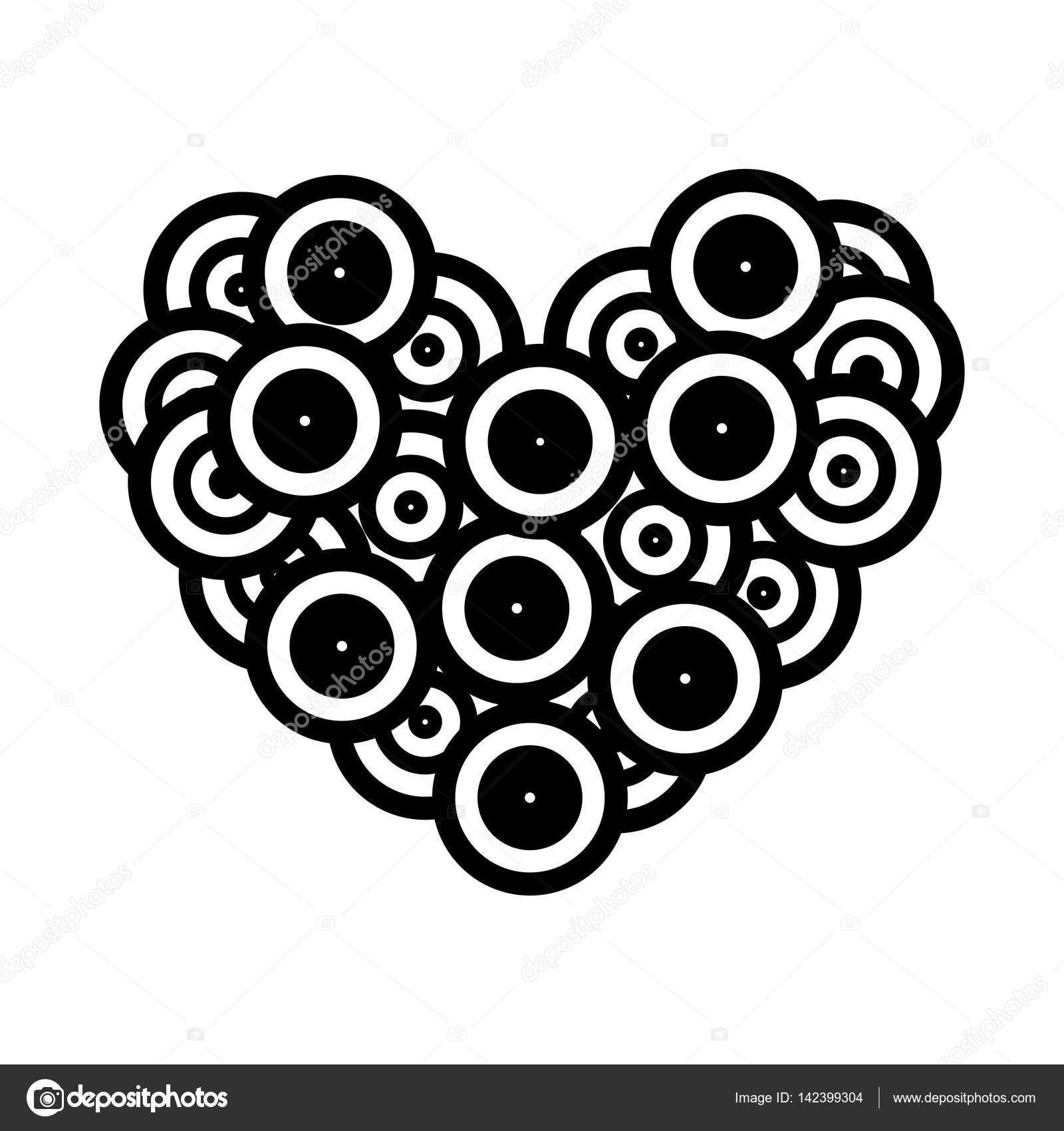 long play love music icon — Stock Vector © yupiramos