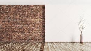 Empty Room Background Vertical 3