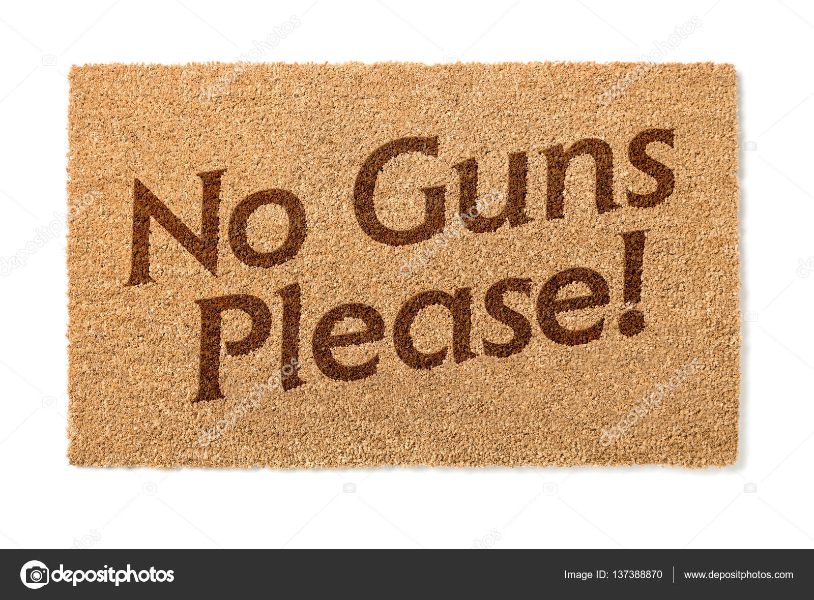 no guns please welcome