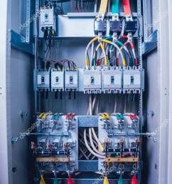 wires switches electric box electrical panel fuses contactors stock photo [ 1064 x 1700 Pixel ]