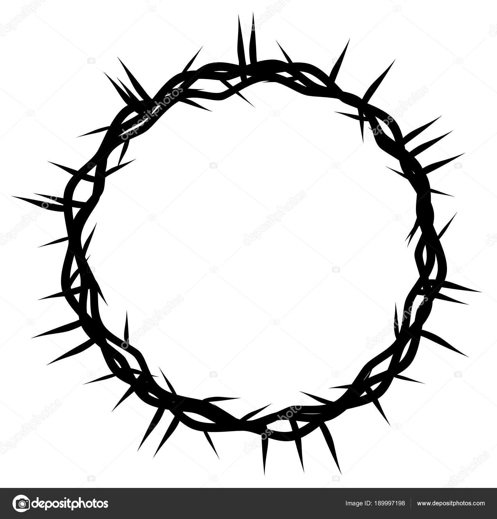 Crown Thorns Easter Religious Symbol Christianity Hand