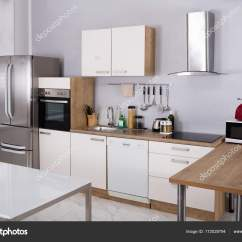 Model Kitchens Black Undermount Kitchen Sink 室内模型厨房 图库照片 C Andreypopov 172028794
