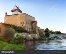 Narva Herman Castle Estonia Foto Stock Chasdesign