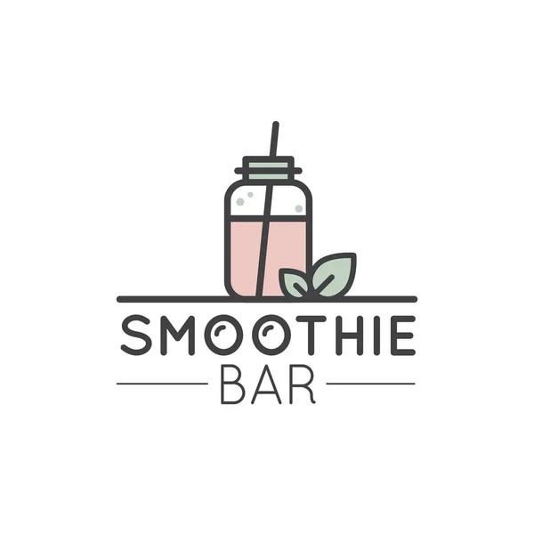 Smoothie Detox Logo Isolated — Stock Vector © highflier