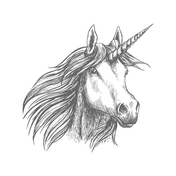 Outline Horse head — Stock Vector © tanjasum84.gmail.com