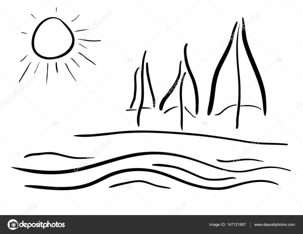 Dibujos De Oceanos Y Mares Para Colorear Dibujos Para