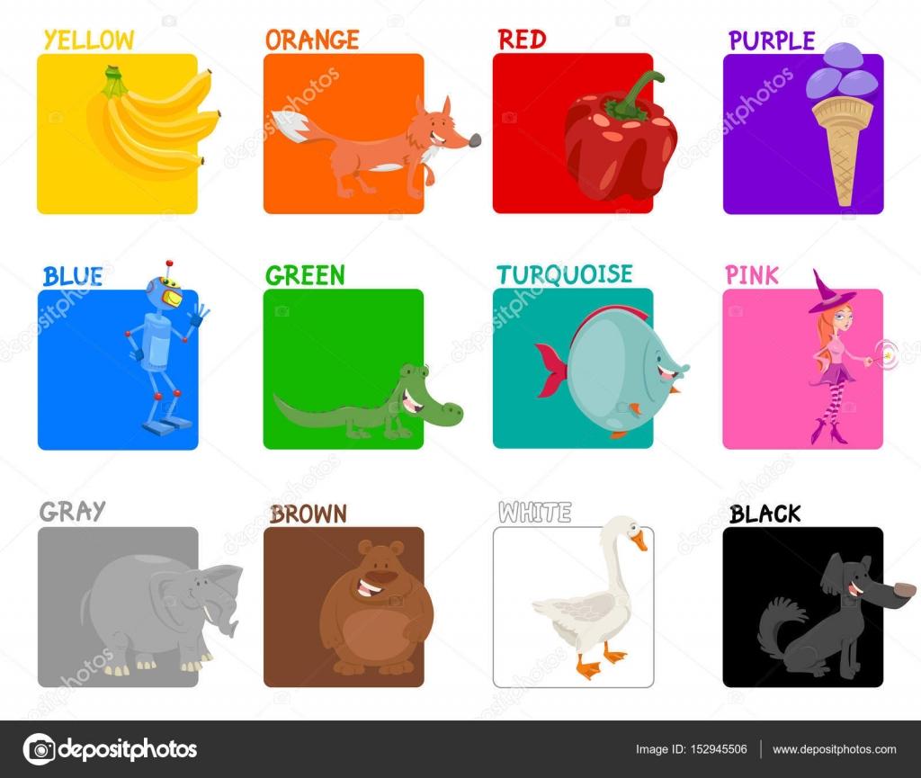 Colores Primarios Para Ninos En Espanol