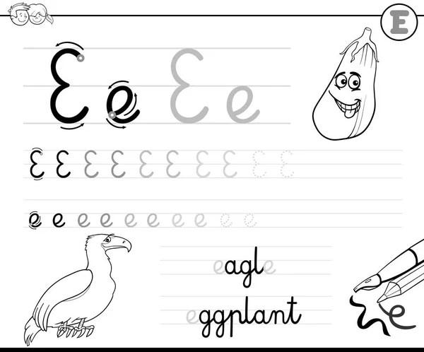 learn to write letter t — Stock Vector © izakowski #115880684