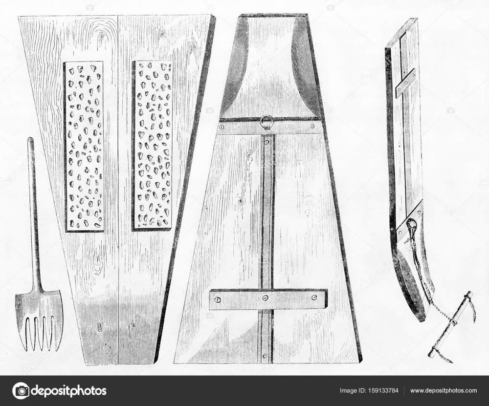 medium resolution of barley and wheat ancient threshing tools