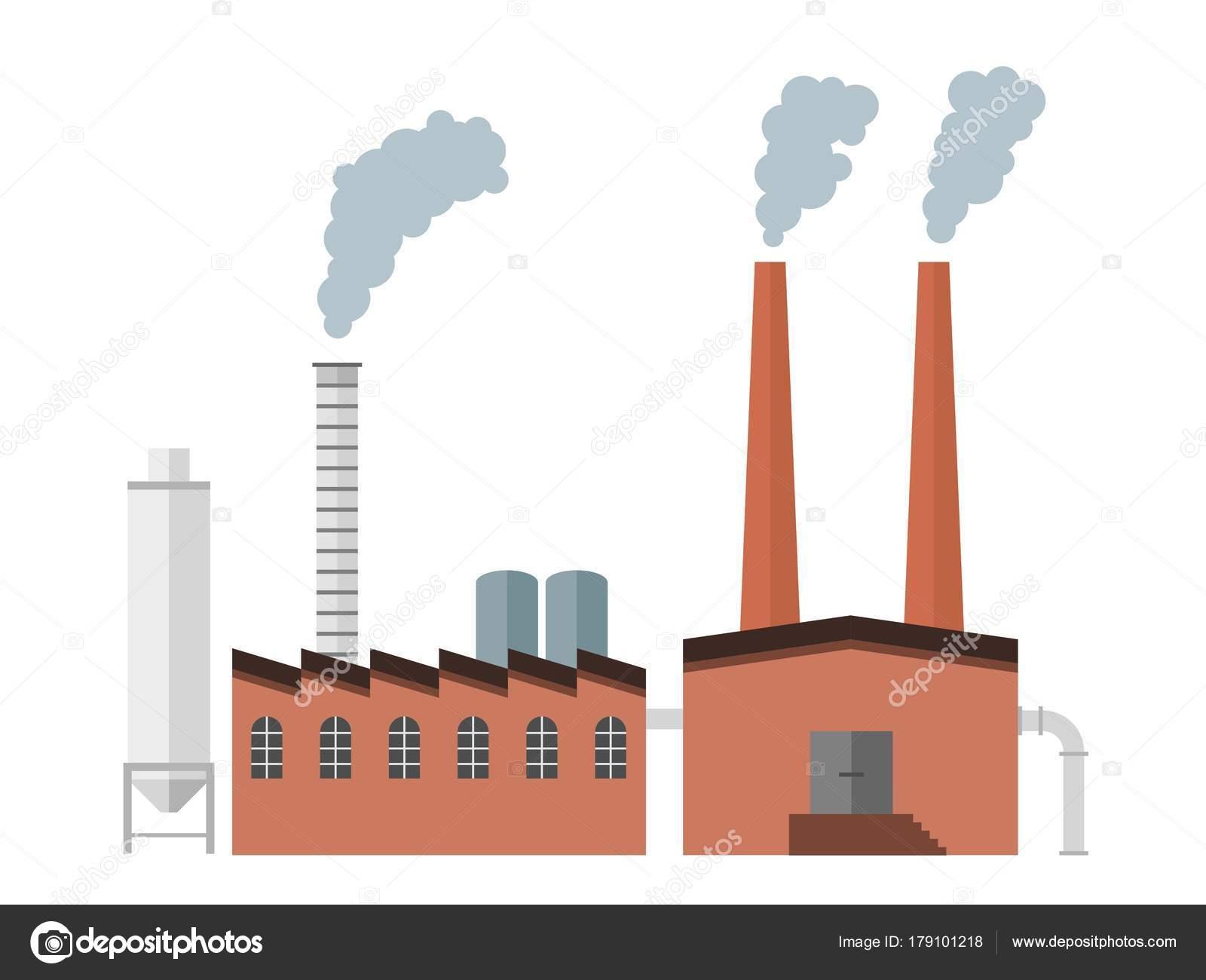 factory vector illustration stock