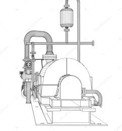 wire frame industrial pump stock photo [ 1401 x 1700 Pixel ]