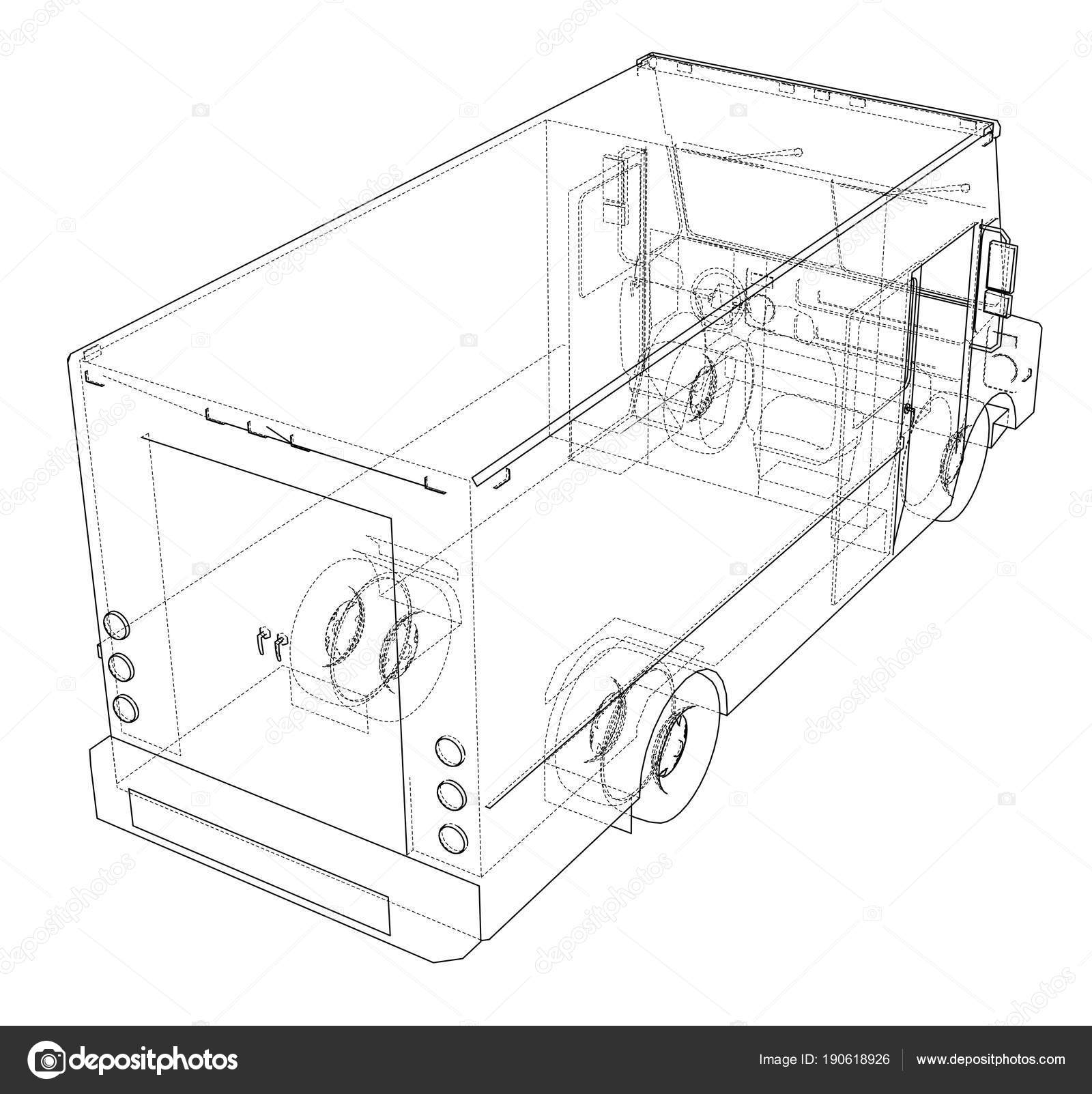 hight resolution of concept delivery car 3d illustration stock image