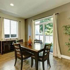 Modern Kitchen Images Diy Counters 家庭办公室室内木制家具与皮革扶手椅 — 图库照片©iriana88w#128002948