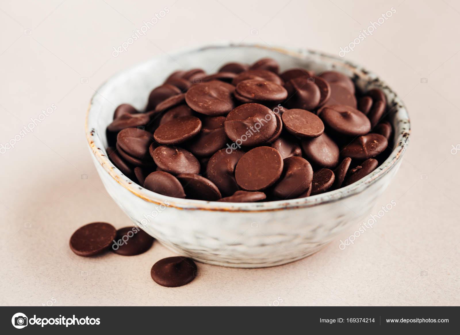 烘烤巧克力滴 — 圖庫照片©Vell#169374214