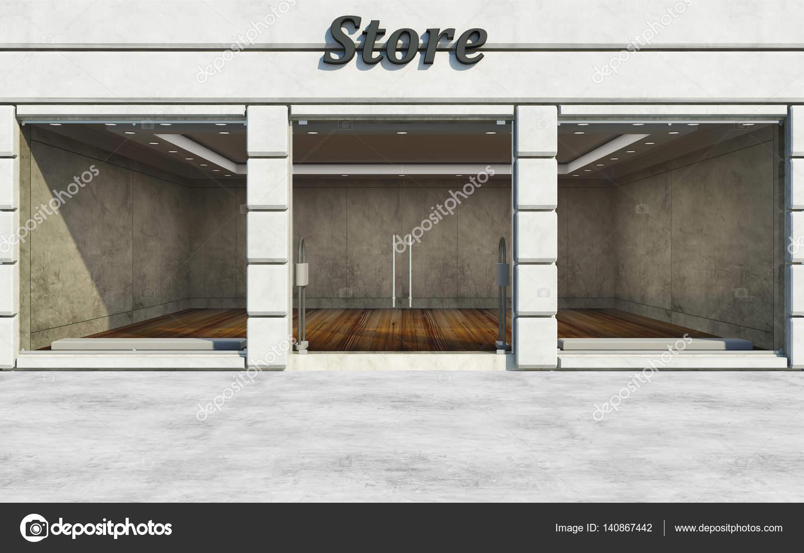 Lege winkel voorkant  Stockfoto  rasslava 140867442