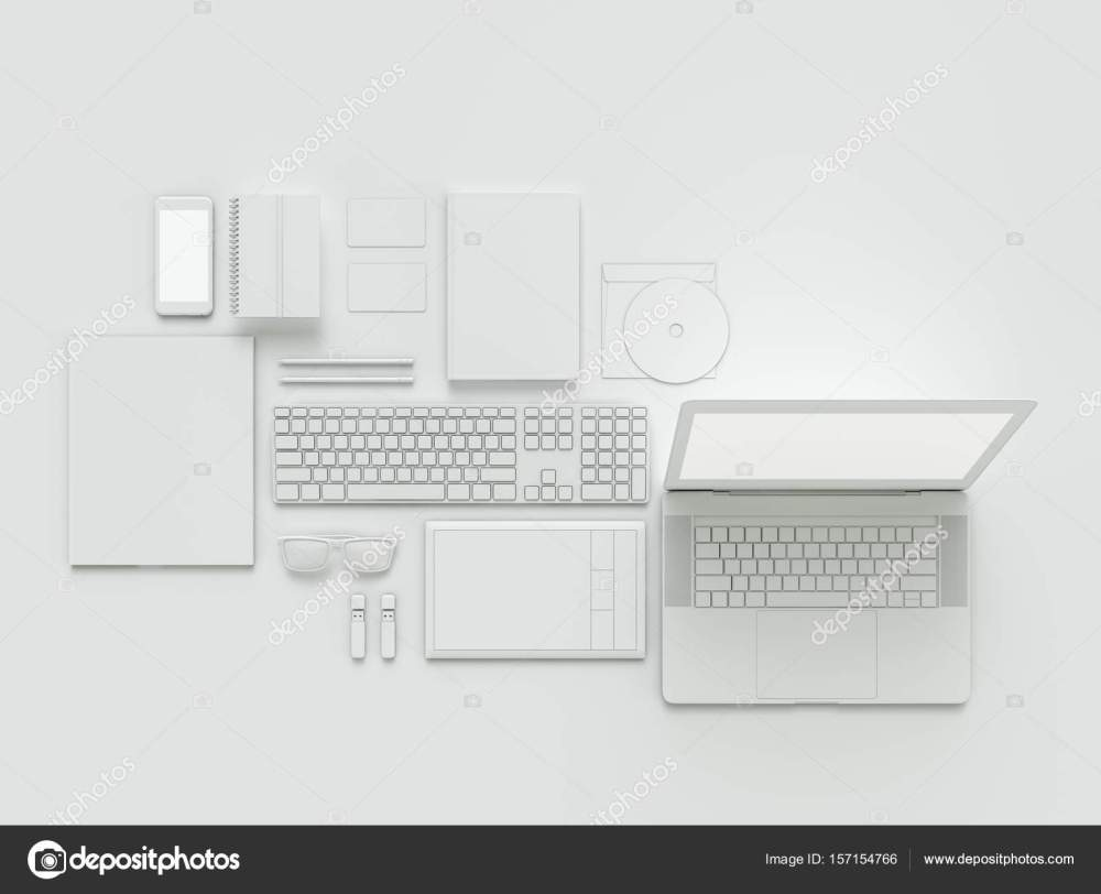 medium resolution of computer laptop digital tablet mobile phone virtual headset and newspaper on white background it concept