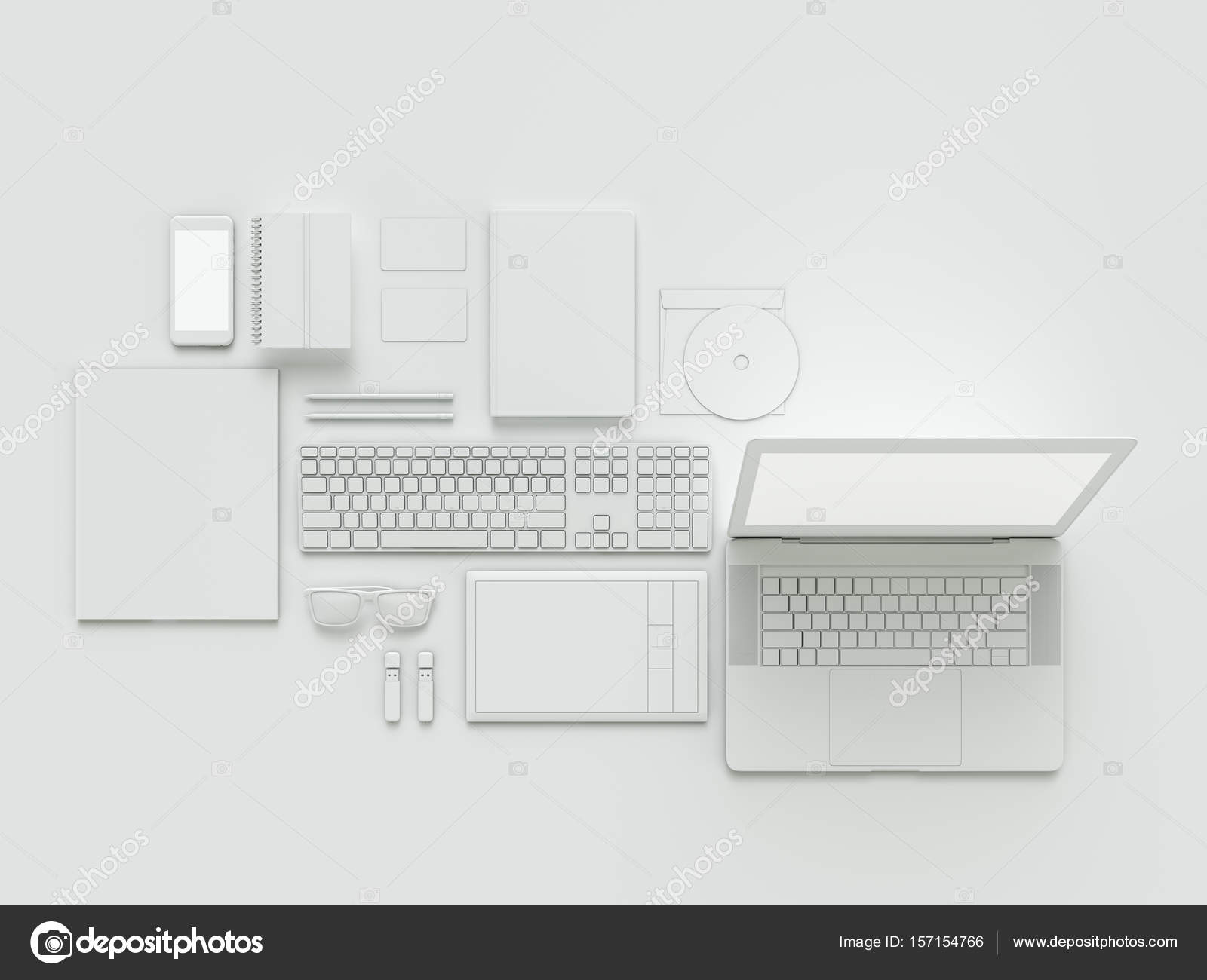 hight resolution of computer laptop digital tablet mobile phone virtual headset and newspaper on white background it concept