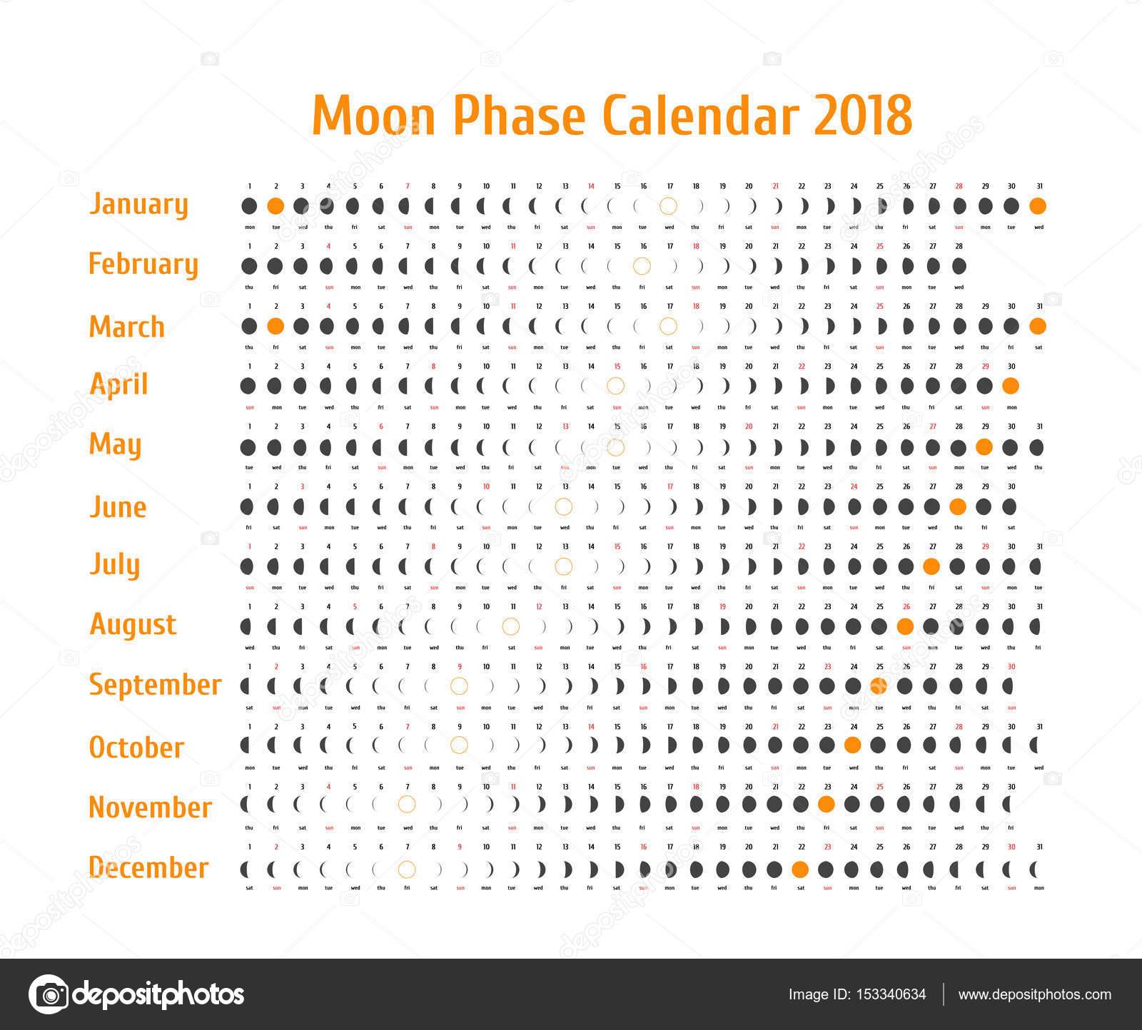 Calendario Astrologico De Vetor Para Calendario Da