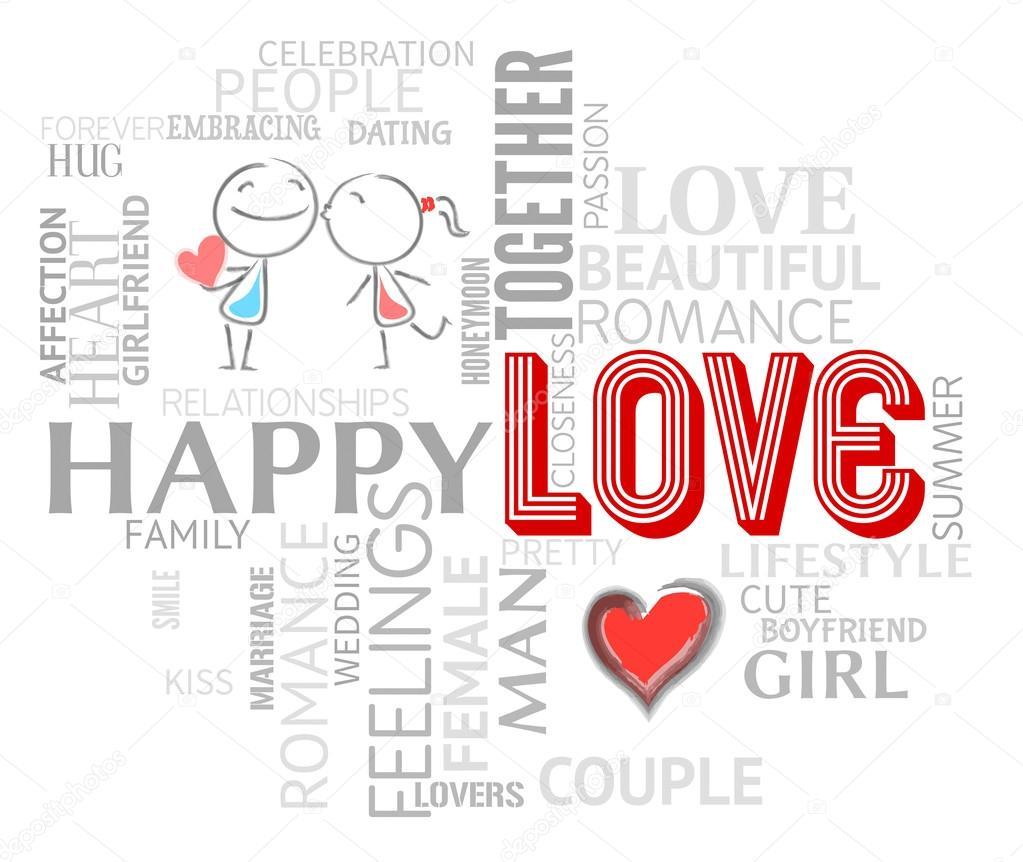Download Amor palabras representan adoración compasión y citas ...