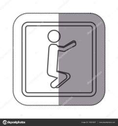figure person doing squats icon stock vector [ 1600 x 1700 Pixel ]