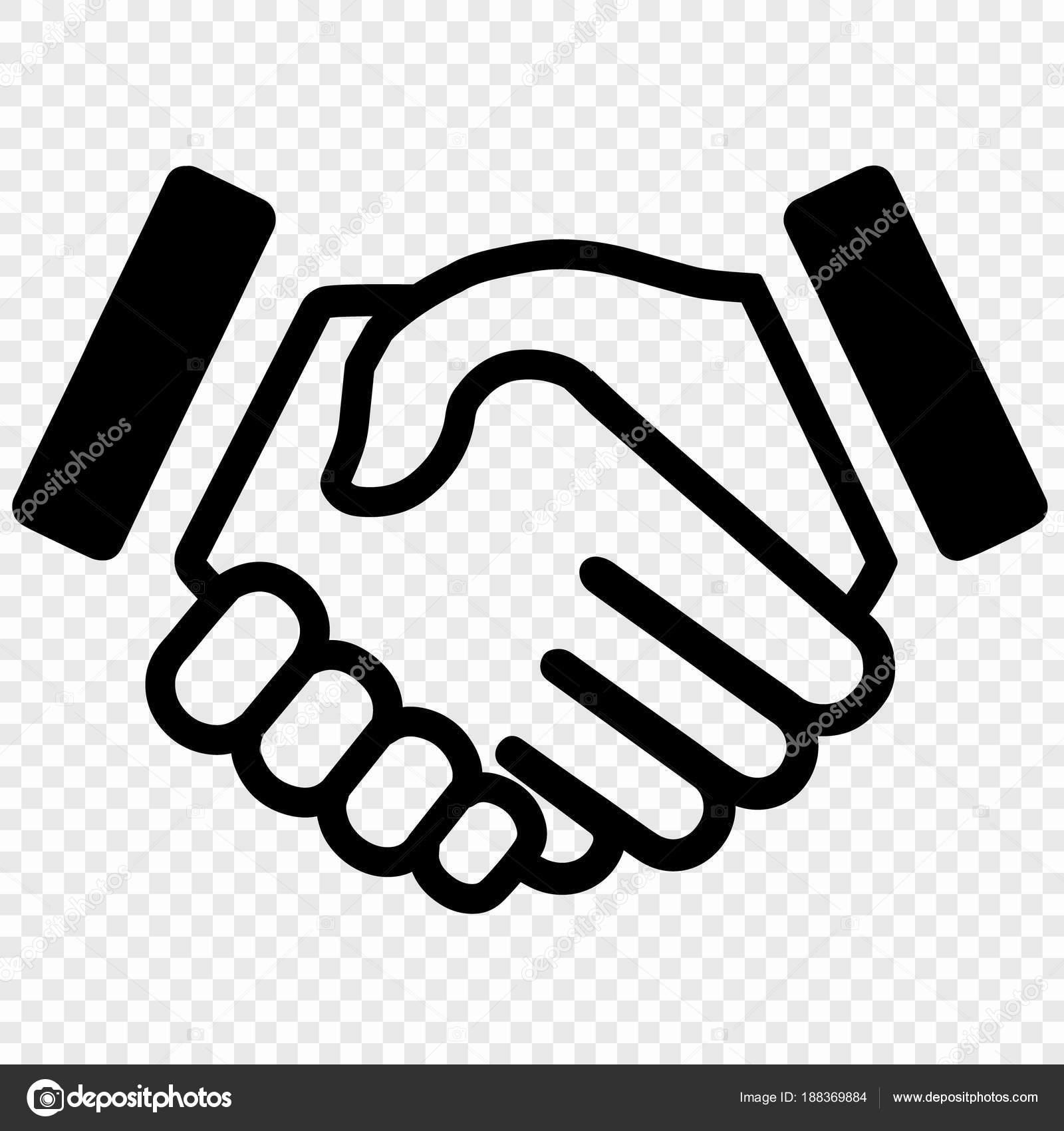 握手圖標 — 圖庫矢量圖像© grebeshkovmaxim@gmail.com #188369884