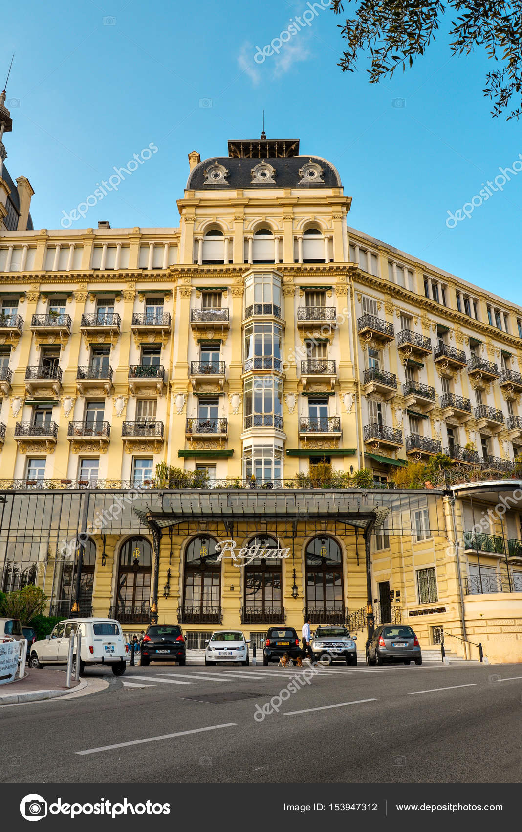 Luxury Hotel Excelsior Regina Palace Stock Editorial