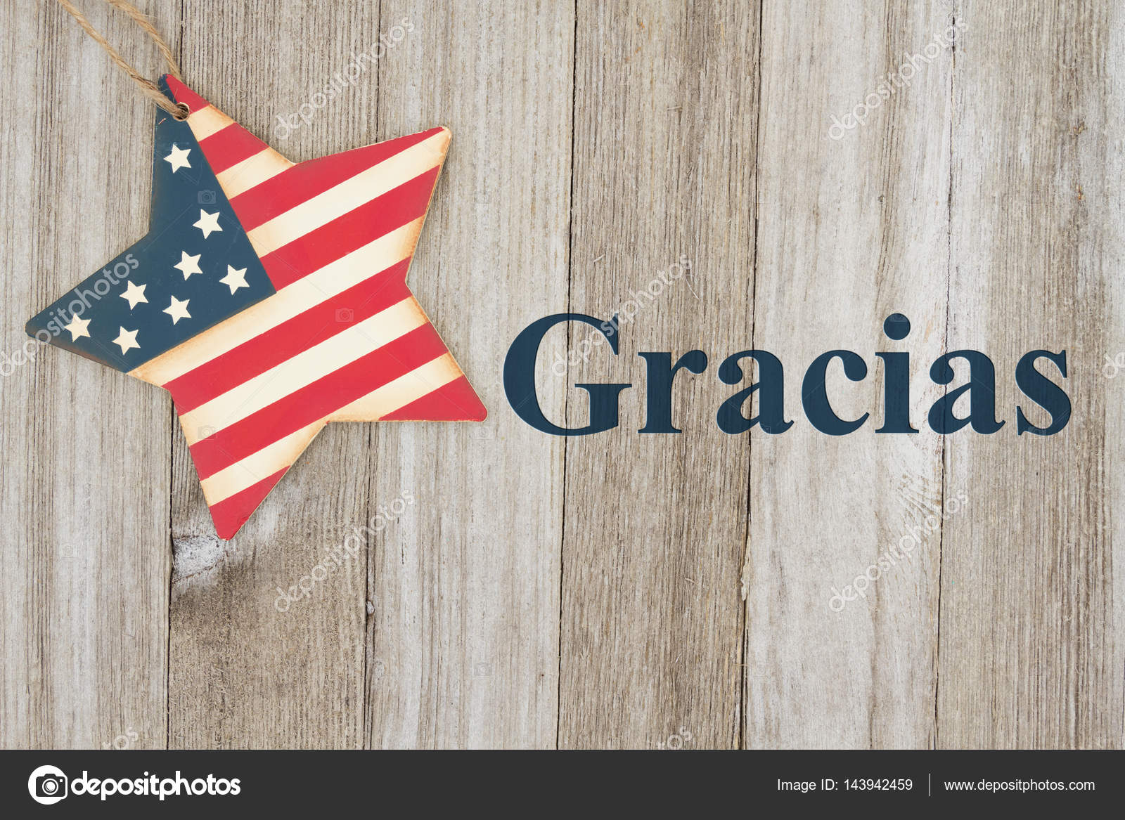 Spanish Patriotic Thank You Message