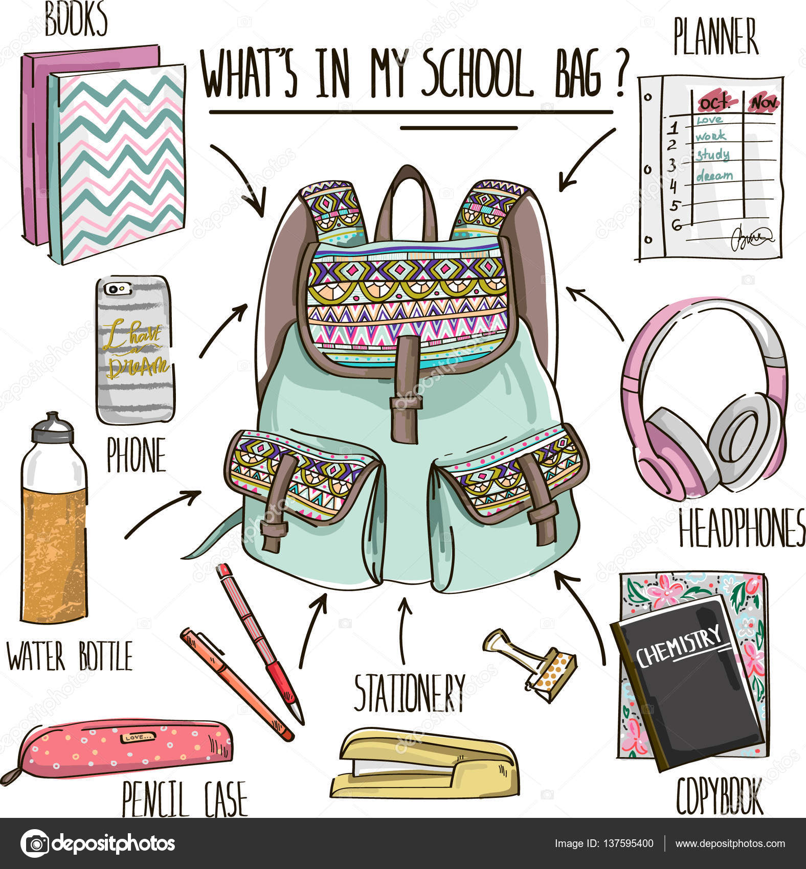 What S In My School Bag