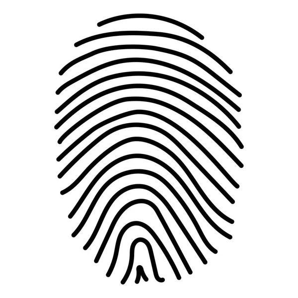 Fingerprint Stock Vector
