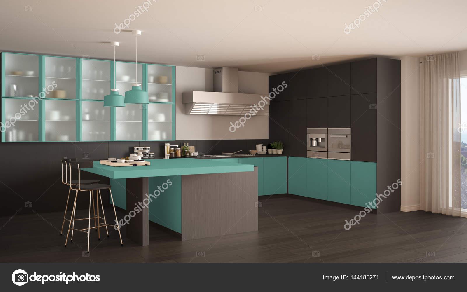 Kuche Turkis Wandgestaltung Beige Braun Home Design Magazine Www