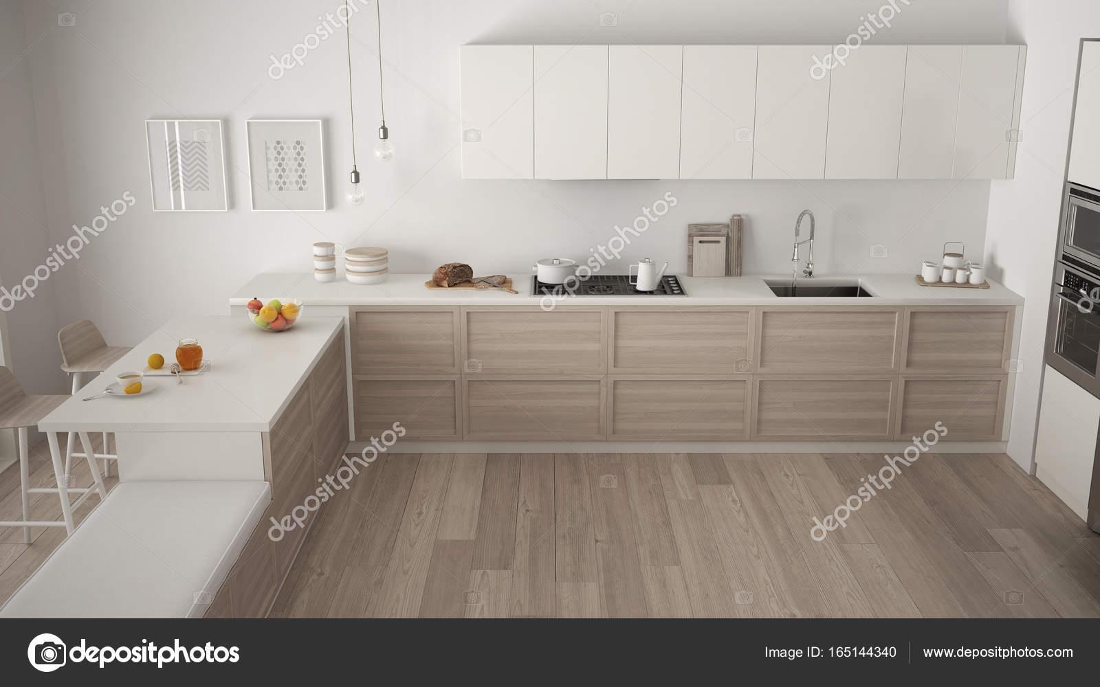 Kuche Parkettboden Moderne Kuchenzeile Ka Che Mit Holzboden