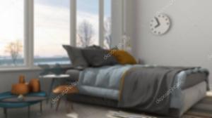 blur colored interior