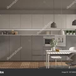 Large Kitchen Table Best Buy Appliances 现代厨房的桌子和椅子 大窗户和herringbon 图库照片 C Archiviz 167149024