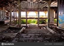 Interior Hotel De Luxo Abandonada Destructed
