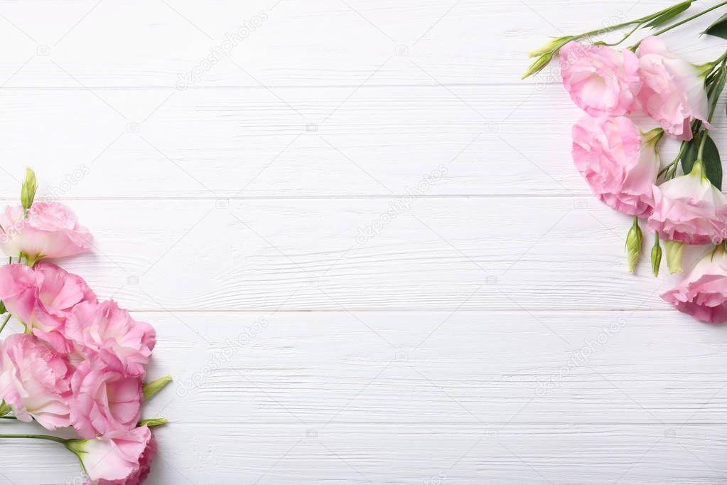 Schoene Blumen Rahmen