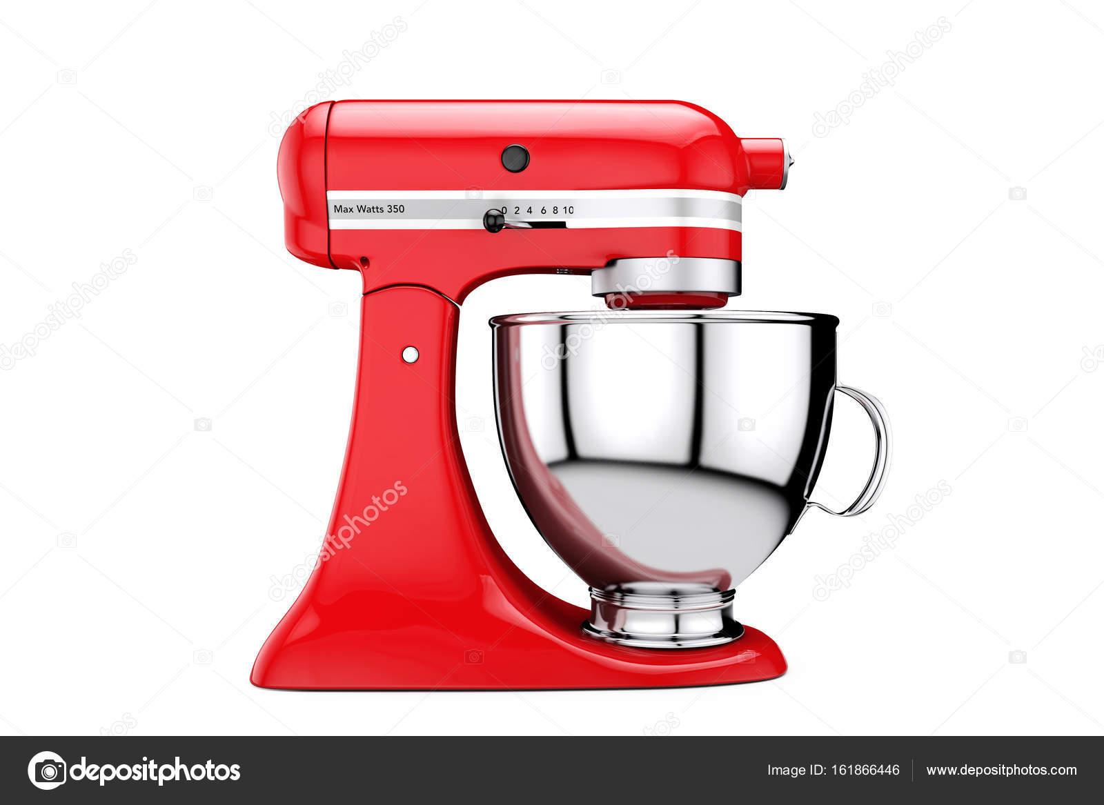 kitchen and mixer mobile trailers 红色厨房食品搅拌机 3d 渲染 图库照片 c doomu 161866446