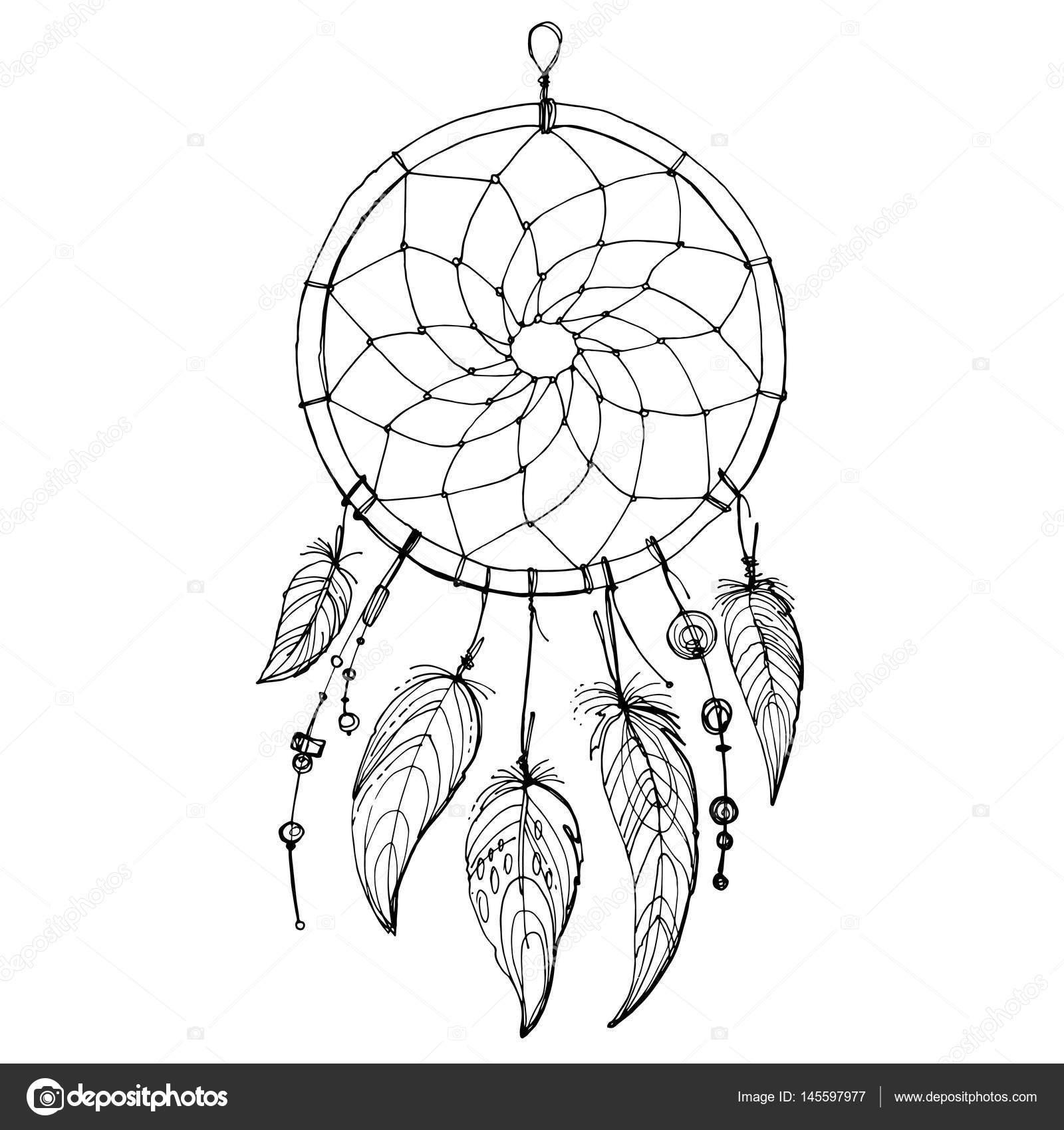Native American In N Dreamcatcher