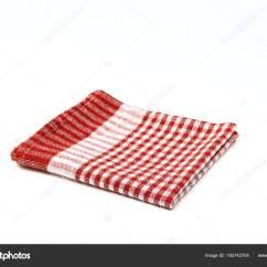 Kitchen Napkins Design Cheap 厨房餐巾隔离 图库照片 C N Samorodskaia 193742704