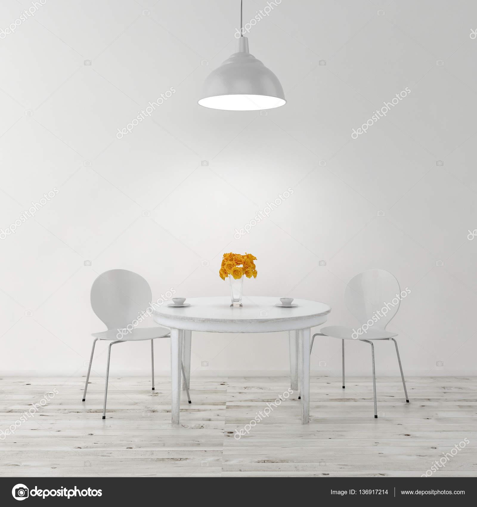 chairs for kitchen table commercial fan extractor 厨房的桌子和椅子 图库照片 c pozitivo 136917214 厨房桌子和椅子 3d 图 照片作者pozitivo
