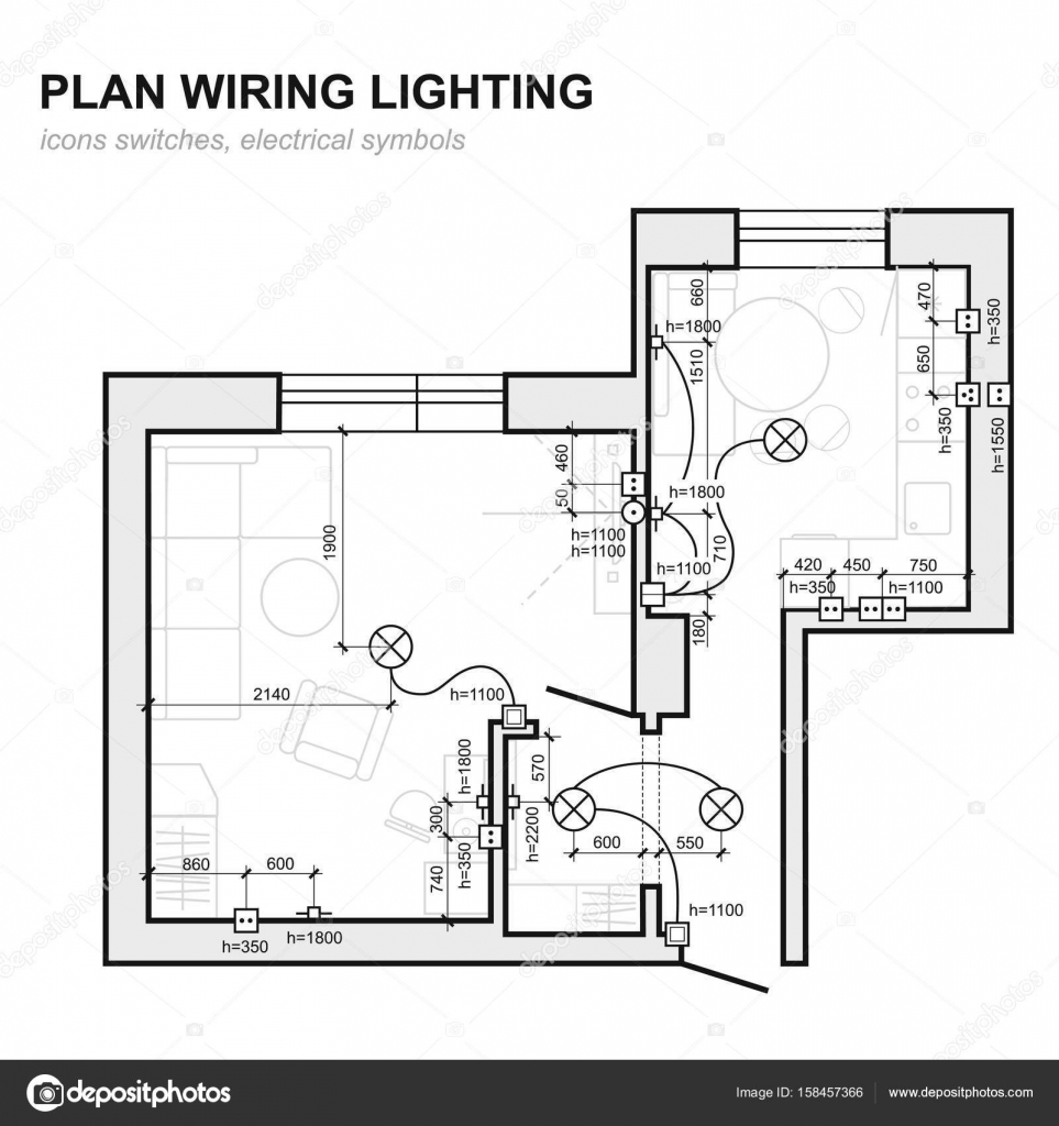 medium resolution of plan wiring lighting electrical schematic interior set of standard toggle switch wiring diagram icon switch wiring diagram