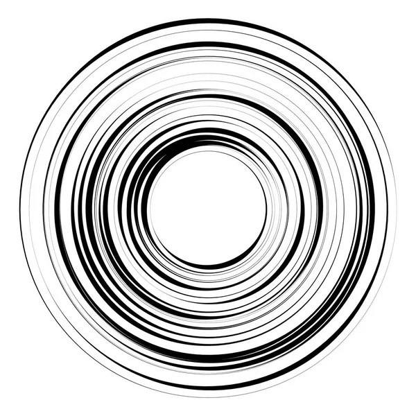 Black cosmic hole. Vortex speed lines background. — Stock