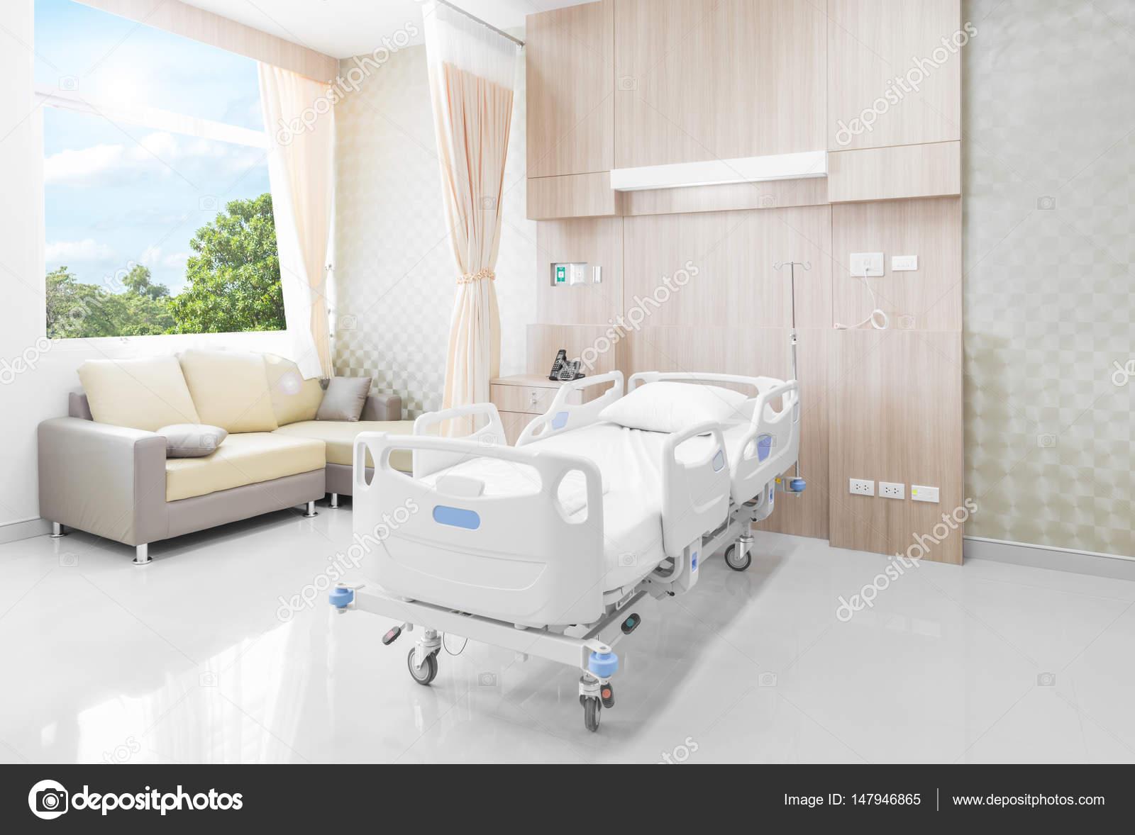 Chambre dhpital avec lits et medical confortable quip dans un hpital moderne  Photographie