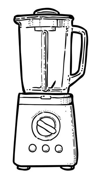 Caricatura de la licuadora — Archivo Imágenes Vectoriales