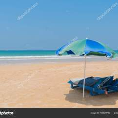 Beach Chairs With Umbrellas Lawn Chair Cushions On Sale Stock Photo C Sandipruel 190929782 And By