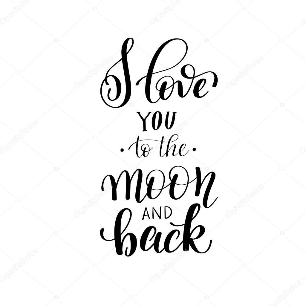 Download Letra cursiva elegante te amo | te amo a la luna y volver ...