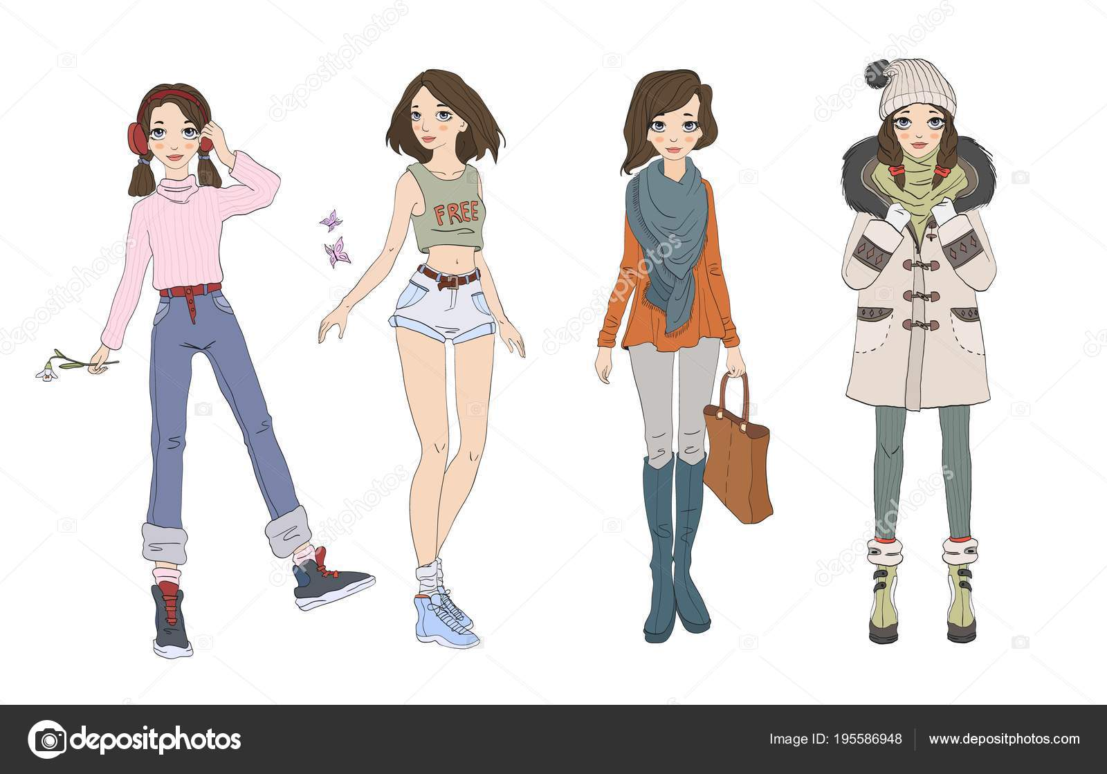 Pictures Cute Teenage Girl Outfits