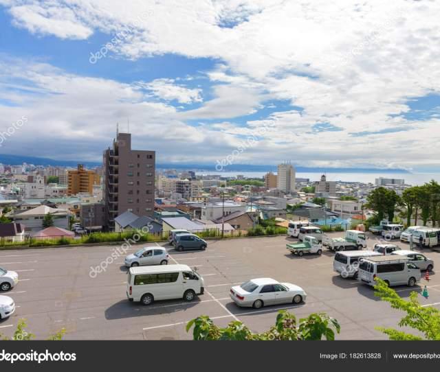 Hokkaido Japan July 2015 City Hakodate Cloudy Day Hakodate City Stock Photo